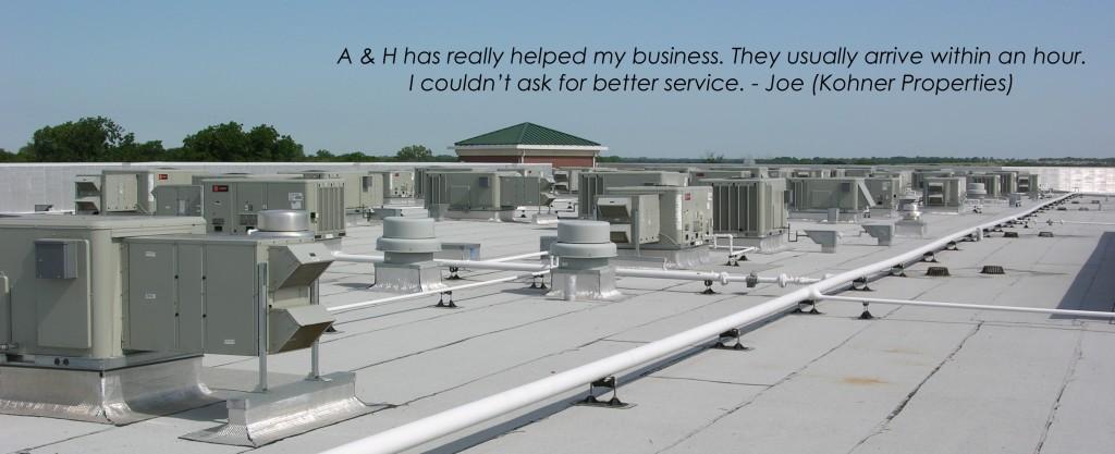 commercial hvac roof slider image